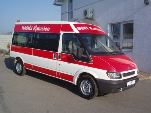 Ford Tranist 300 LWB 2,0 TDCi 86 PS minibus - 9 míst Klimatizace střední střecha dlouhý - Prodáno