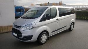 Ford Transit Custom 310 LWB 2,2TDCi 125PS 9 míst, klimatizace, v provozu 07/2016