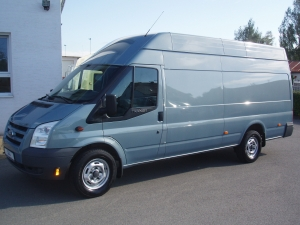 Ford Transit 350LWB EF Jumbo 2,4TDCi 103kW/140PS Maxi Dlouhý Vysoký Klima - Prodáno
