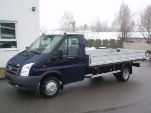 Ford Transit 350 LWB EF 2,4 TDCi 140 PS valník jednokabina dlouhý - 4,2 m - nový vůz - Prodáno