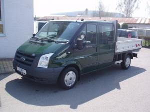 Ford Transit 300MWB 2,2TDCi 85kW/115PS valník dvojkabina 6 míst - Prodáno