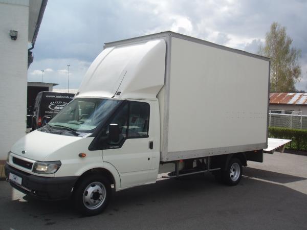 Ford Transit 350EF 2,4TDCi 140PS skříň bedna s hydraulickým čelem Klimatizace Servisní knížka - Prodáno