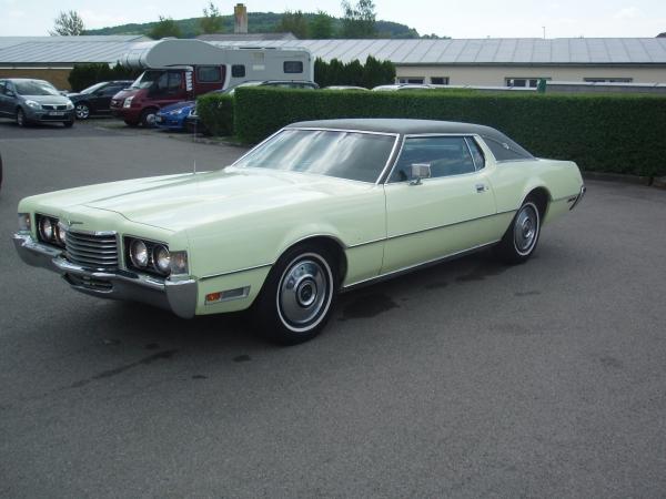 FORD THUNDERBIRD 7.0 429 cu V8, originální stav, luxusní kupé, 4 místa, rok výroby 1972