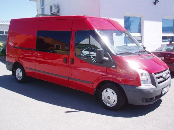 Ford Transit 300LWB L3H2 2,2TDCi 81kW/110PS Kombi Van 6 míst Klima Serviska - Prodáno