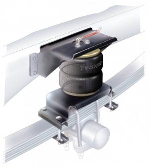 Montáž a prodej přídavného vzduchového pružení - vzduchové měchy