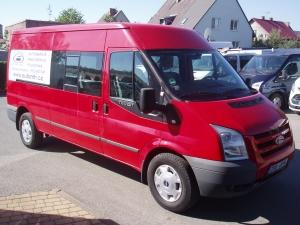 Ford Transit 350LWB L3H2 2,4TDCi 103kW/140PS minibus 8-9míst Dvojitá Klima Parkovací kamera Navi - Prodáno