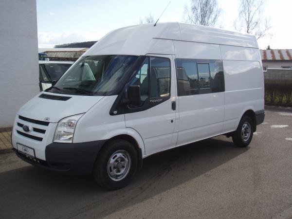 Ford Transit 330LWB 2,2TDCi 85kW/115PS L3H3 dvojitá kabina 6-míst Klimatizace - Prodáno