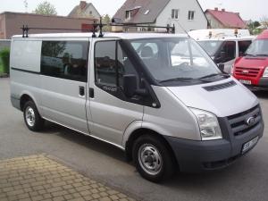 Ford Transit 280MWB 2,2TDCi 63kW/85PS L2H1 6 míst Levé a Pravé boční šoupací dveře Serviska - první registrace 12. 03. 2008