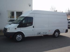 Ford Transit 350LWB EF Jumbo 2,4 TDCi 115 PS Klimatizace Servisní knížka Nový model - Prodáno