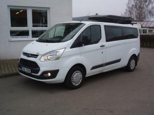 Ford Tourneo Custom 310L 2,2TDCi 92kW/125PS L2H1 Kombi minibus 9 míst Klima - Prodáno